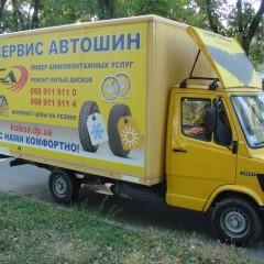 брендирование грузовиков